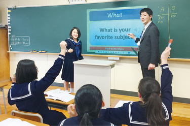 見て、聞いて、伝え合う授業
